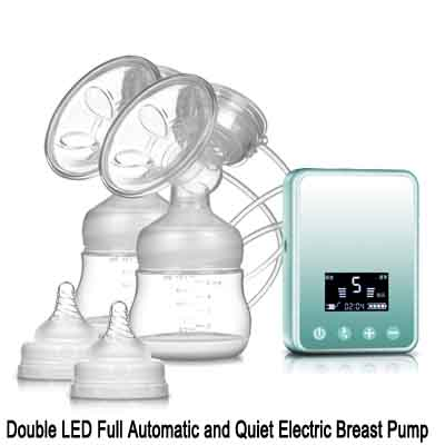 Double LED Automatic and Quiet Electric Breast Pump03