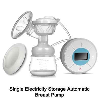 LCD single breast pump 06