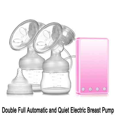 Doubl Full Automatic and Quiet Electric Breast Pump